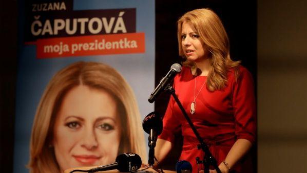 La ecologista que se convirtió en la primera mujer presidenta de Eslovaquia
