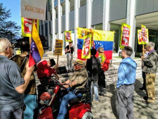 Irrupción en embajada venezolana en Washington busca intervención militar