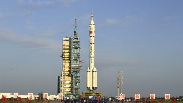 Los astronautas chinos despegarán el jueves hacia su estación espacial