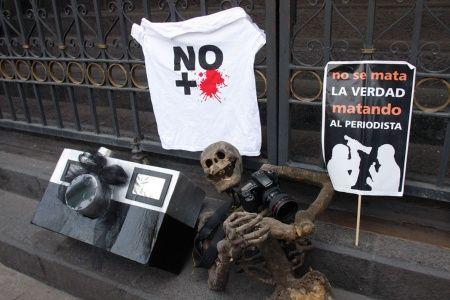Mexicanos pide justicia asesinato periodistas