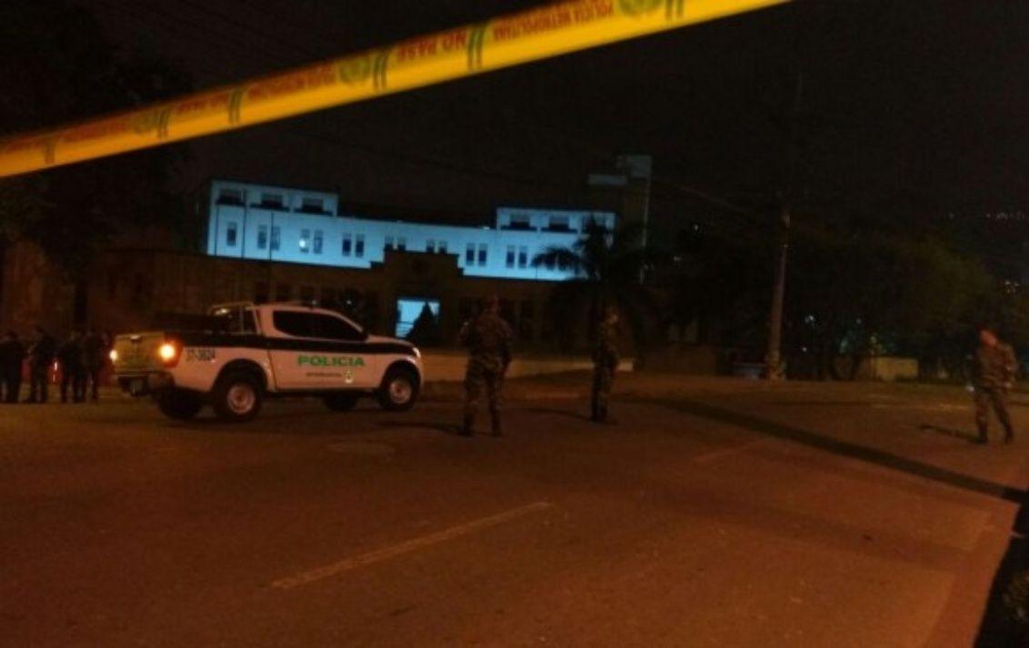 De milagro se salvaron 36 policías tras atentado en Bello, Antioquia