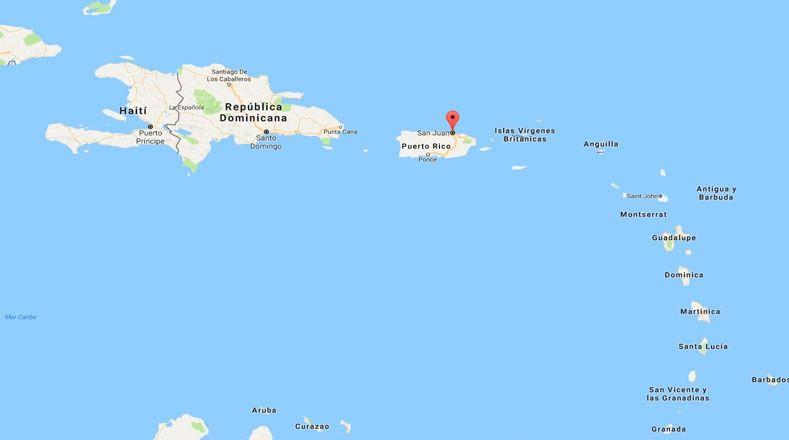 Avanza Irma por Florida