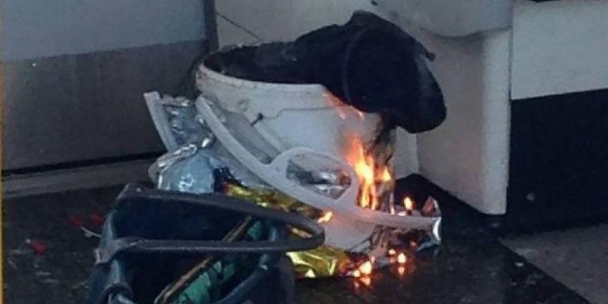 GALERÍA | La bomba del metro de Londres era un artefacto casero