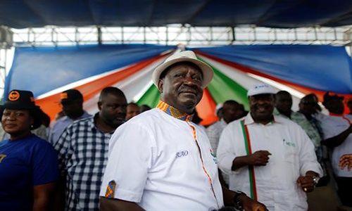 Las impactantes imágenes del caos en Kenia previo a elecciones