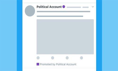 Twitter dará a conocer identidad de anunciantes políticos