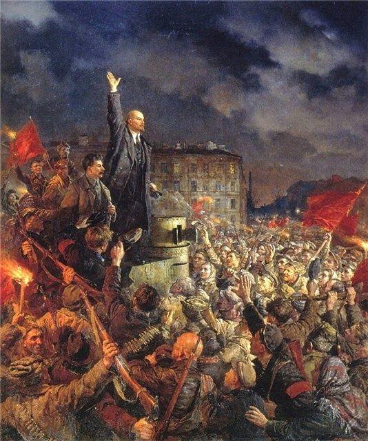 Pueblo revolucionario marcha este martes en conmemoración de la Revolución Bolchevique