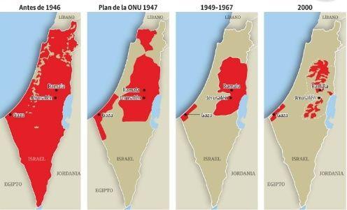 Palestinos conmemoran 29 años de declaración de independencia