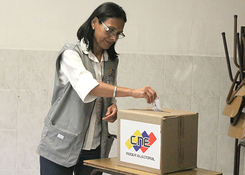 D'Amelio: Este lunes inicia la distribución del material electoral del 10-D