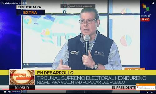 Reina la calma en jornada electoral de Honduras