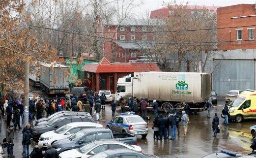 Tiroteo en fábrica en Moscú deja al menos un muerto