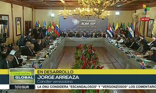 Maduro expresa solidaridad con países agredidos por Trump