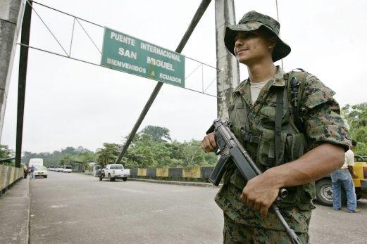 Atacan a militares ecuatorianos en frontera norte