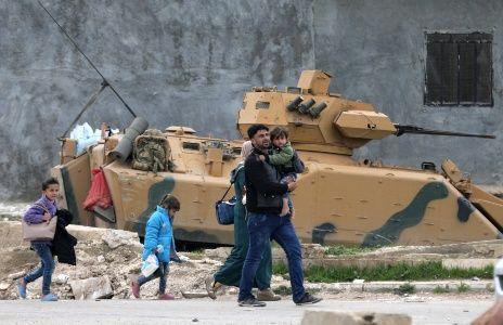 10 combatientes pro régimen sirio muertos por bombardeos turcos cerca de Afrin