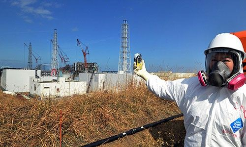 """7º aniversario del tsunami y desastre nuclear de Fukushima — Japón"""""""