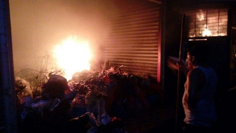 Reportan incendio en el mercado Oriental