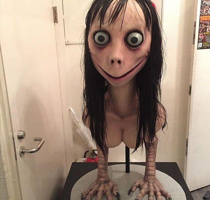Así es Momo, el perturbador personajes entre tus contactos | Actualidad — Whatsapp