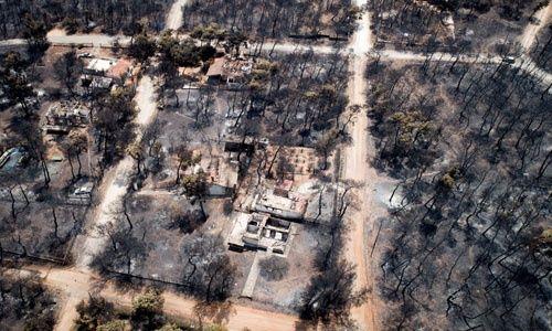 Ecuador se solidariza con Grecia por devastadores incendios registrados