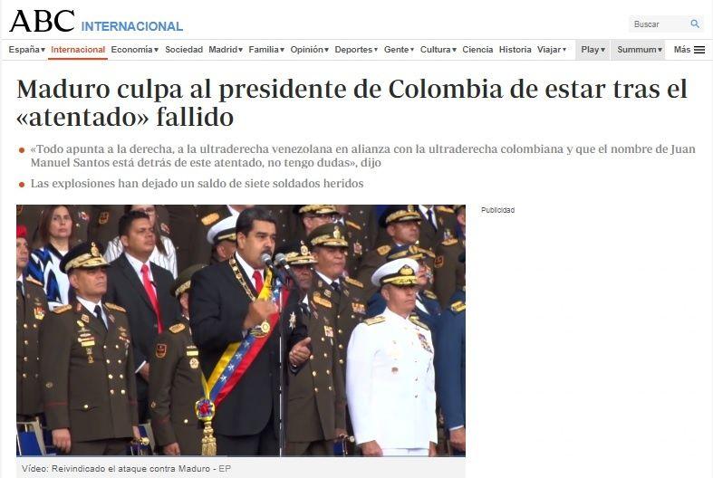 Periodista Jaime Bayly admitió participación en hechos contra Maduro