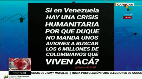 Nación Venezuela solicitará indemnización a Colombia