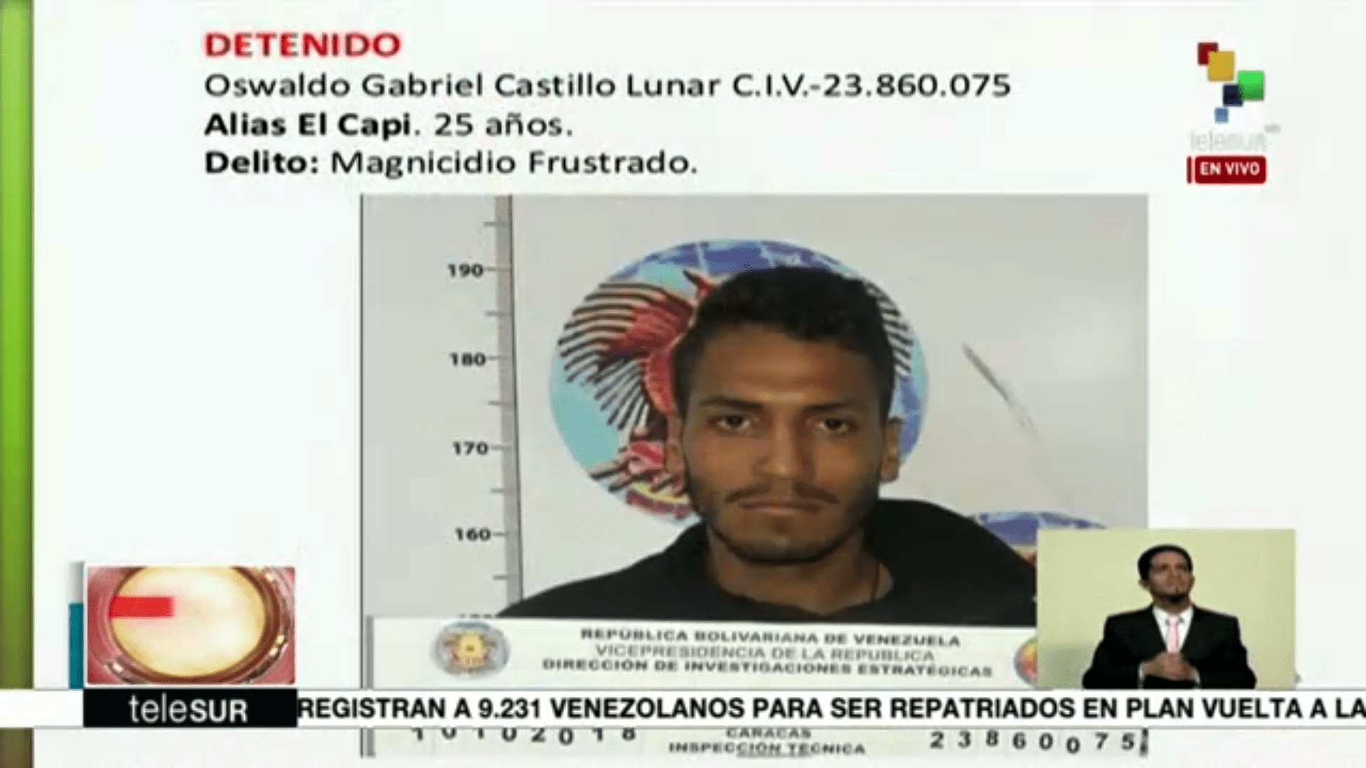 Nación Detienen a presuntos involucrados en el caso de intento de magnicidio
