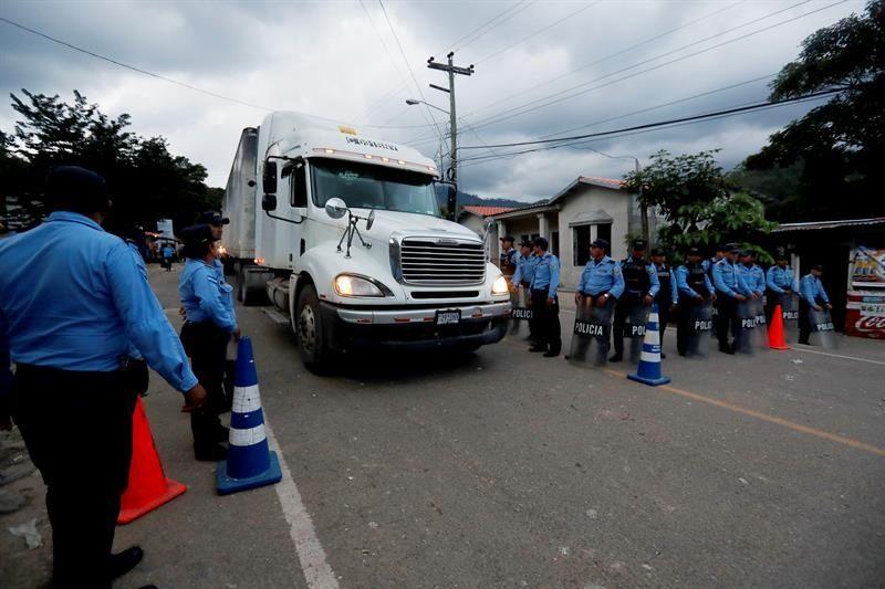 Honduras y Guatemala buscan condenar incitadores de caravana migrante