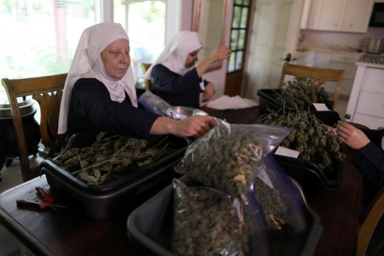 California 'Weed Nuns' Heal Women With Cannabis